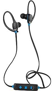 HMDX Craze Active Sport Bluetooth Wireless Earbuds, Sweatproof earphone, Ear hook clip, Hands