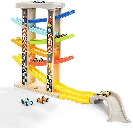 ZaiQu Juguetes para niños Juegos de Mesa Educación temprana Puzzle Niño Niña 2-3 años Juguete Coche Inteligencia Desarrollo Planeador Racing Juguete (Tamaño : B): Amazon.es: Hogar