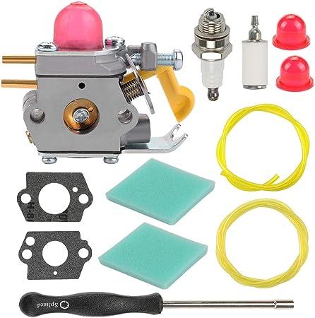 Carburetor Tune Up Kit For FL20C SST25 Zama C1U-W18 Craftsman Poulan Weedeater