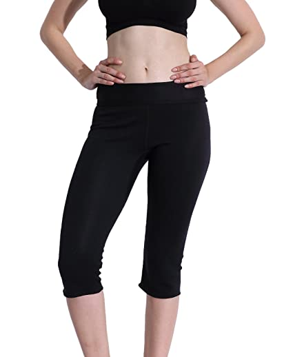 2abac38070802 Image Unavailable. Image not available for. Color  Ausom Hot Thermal Sauna  Slimming Pants SCR Body Shapers Sweat Suit Workout Slimmer Leggings Fat  Burner