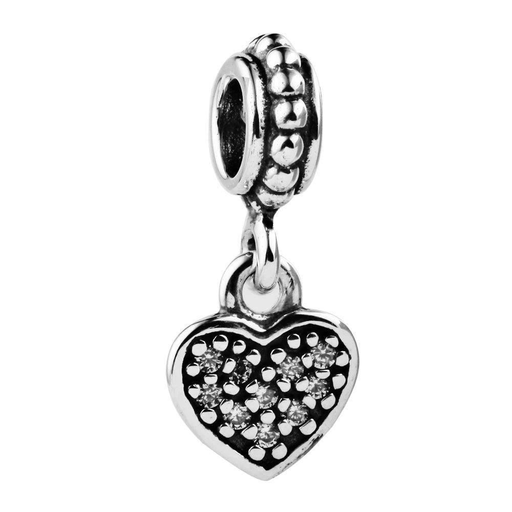 CHANGEABLE Charms et Perles pour Femme Argent 925 TAOTAOHAS LW173C