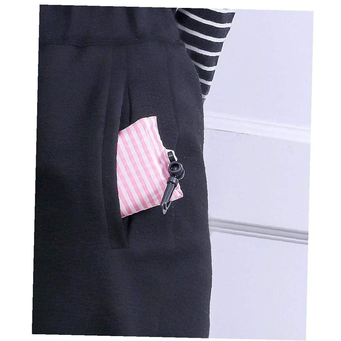 R/éutilisable Pliable Sac Femmes Portable Pliable Sac fourre-Tout Recycle Pochette de Rangement Sac /à Main Voyage Couleur al/éatoire