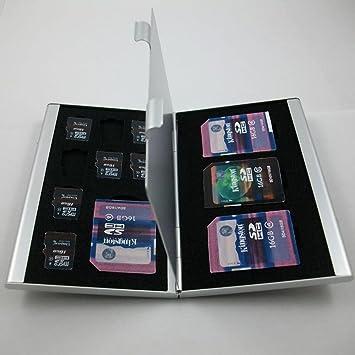 Pocktyle - Soporte de metal para tarjeta SD (memoria EVA ...