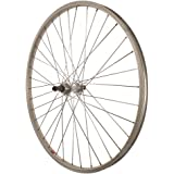 Sta-Tru Silver Alloy ATB 6-7 Speed Freewheel Hub Quick Release Rear Wheel (26X1.5-Inch)