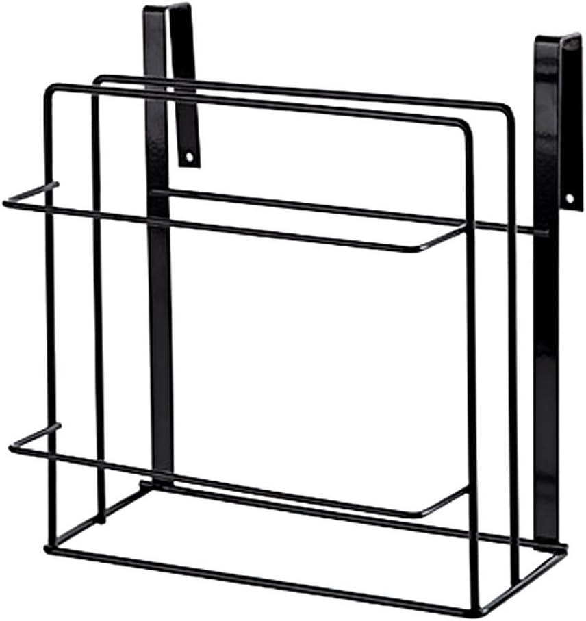 Wall-mount Cutting Board Rack Cabinet Board Hanger Shelves Storage White