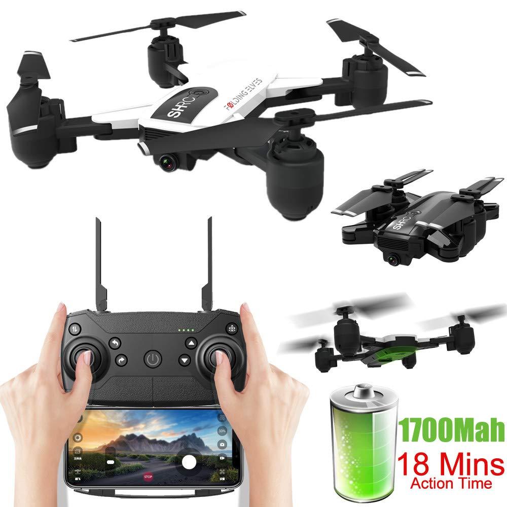 SHRC H1 GPS RC Drone WiFi 1080P CAM FPV Altitude Hode Flujo óptico ...