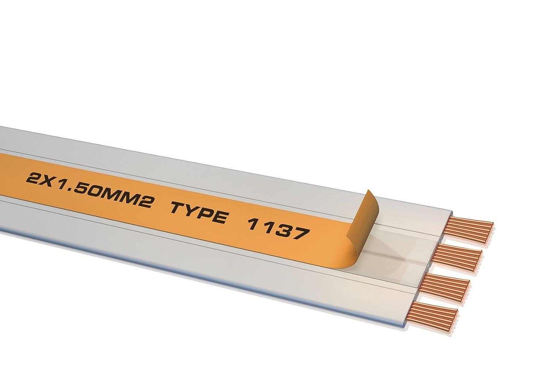 Oehlbach Ultrastream Lautsprecher-Kabel 2x1,5mm²: Amazon.de ...