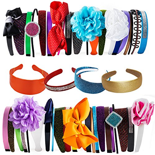 Hard Headbands Assorted Flower CoverYourHair