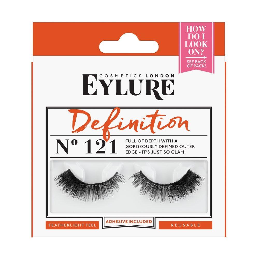 78ae9b307e7 Amazon.com : Eylure Definition False Eyelash, Style No. 121, Reusable,  Adhesive Included, 1 Pair : Beauty
