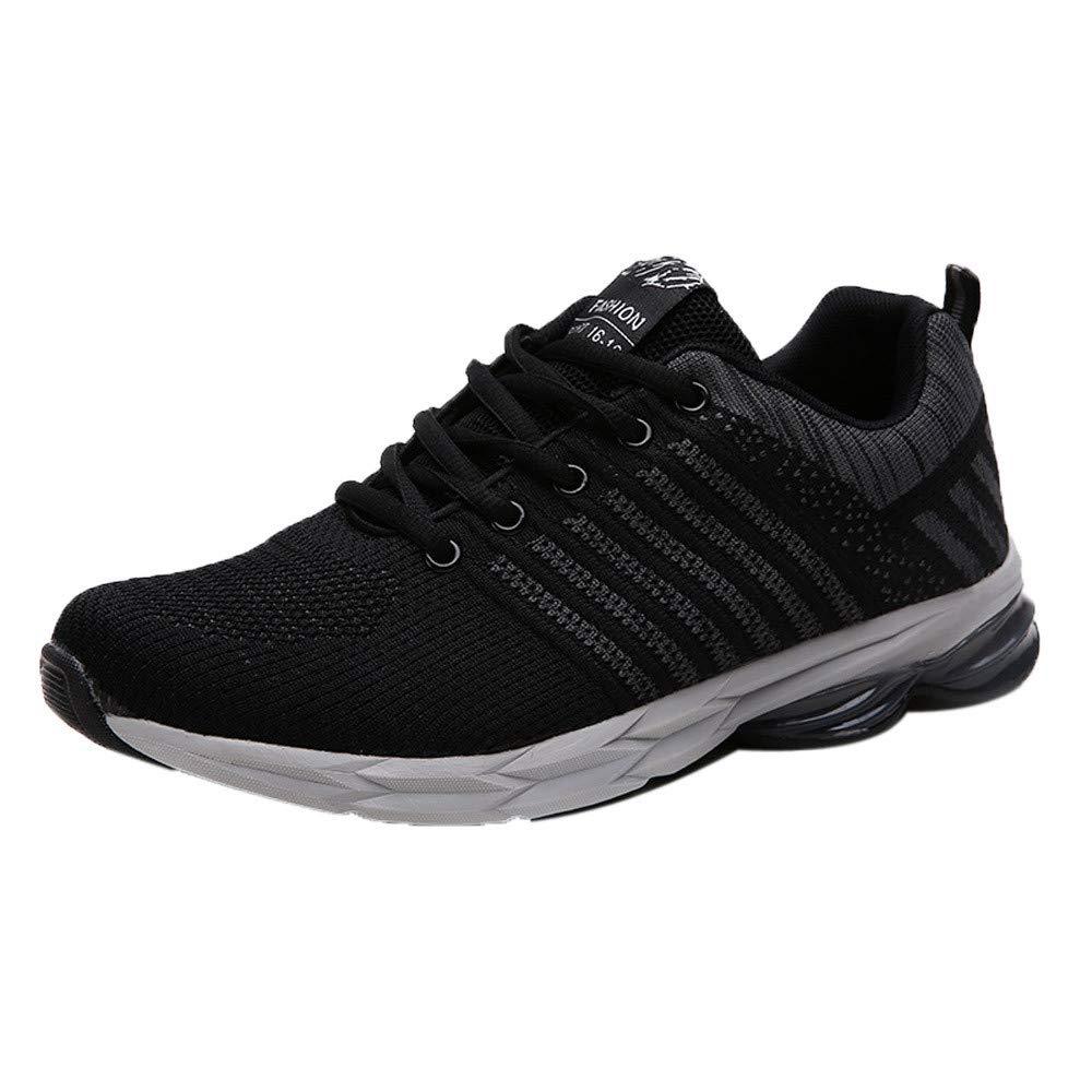⚡HebeTop ⚡Mens Sneakers Lightweight Breathable Running Shoes Black by ▶HebeTop◄➟HOT SALES