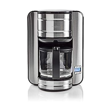 NEDIS KACM210EAL Cafetera | Capacidad para 12 Tazas | Temporizador ...