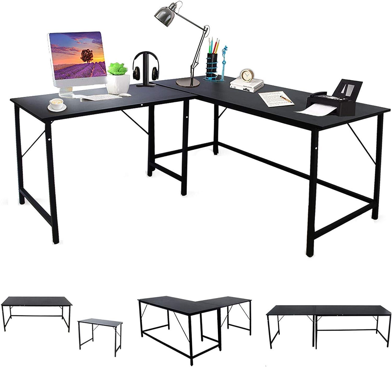 Bizzoelife L Shaped Large Corner Desk, 94.5