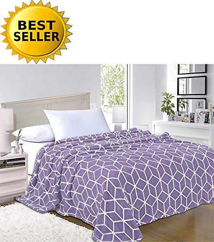 Elegant Comfort #1 Fleece Blanket on Amazon - Luxury Micro-F