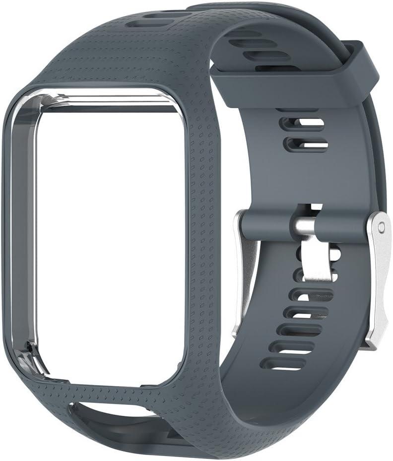 Correa de Reloj silicona de repuesto para reloj Strap de Recambio ...