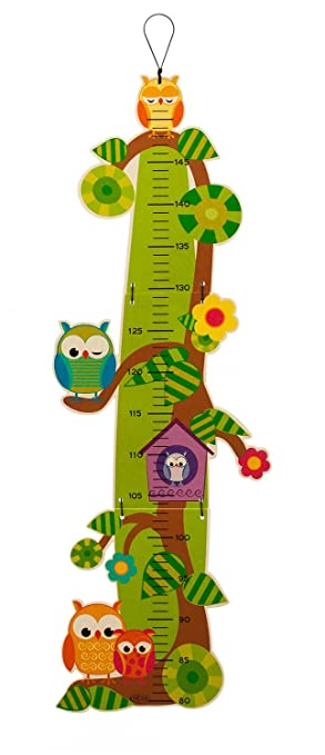 Owl Ruler Growth Chart Amazon Toys Games