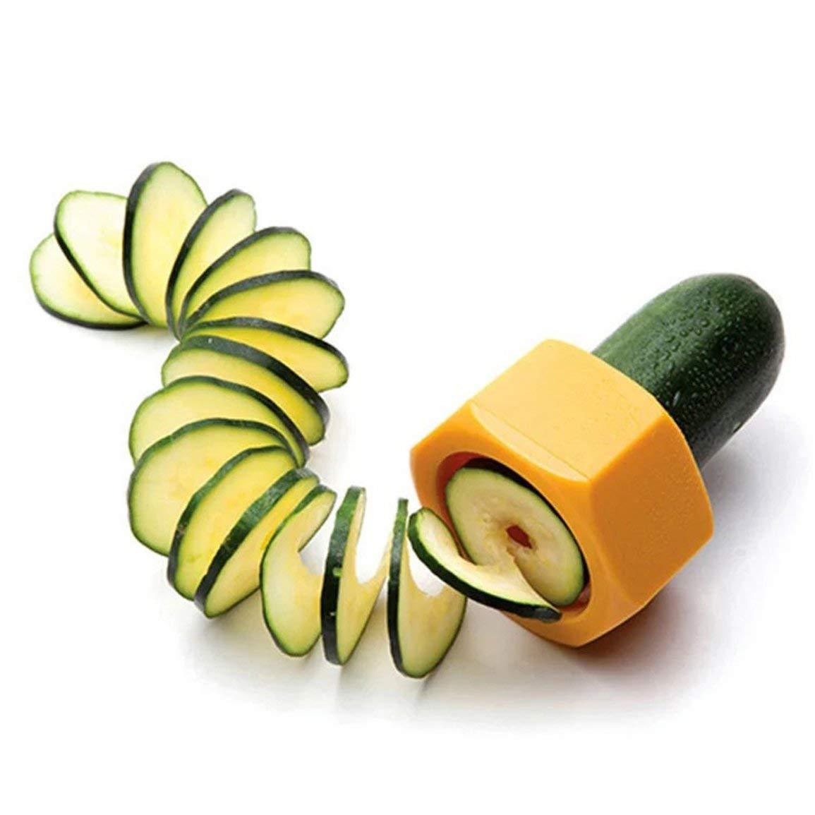 Neue Originalität Kochen Werkzeuge Küche Zubehör Zubehör Obstschäler Gemüse Gurke Spirale Gemüseschneider JBP-X