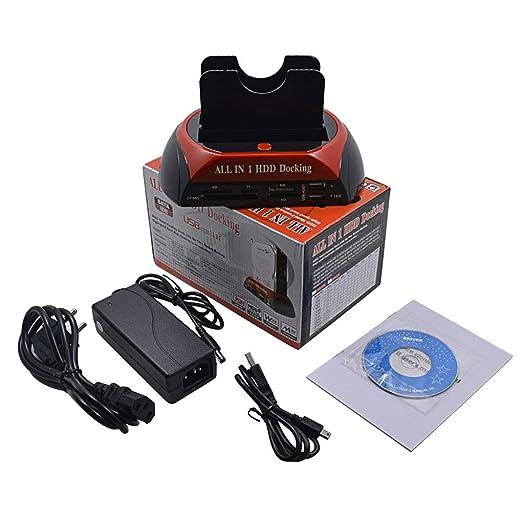 Ben-gi Soporte para IDE SATA HD Disco Duro HDD 2.5 Lector 3.5 Hub ...