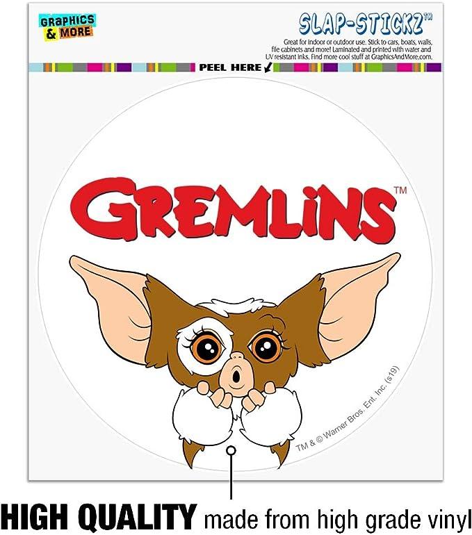 Gremlins Gizmo Mogwai B Vinyl Sticker Car Bike Truck Wall Art Windscreen Decal