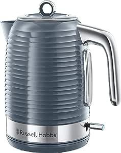 Russell Hobbs Inspire Chrome Kettle, Grey, RHK112GCH