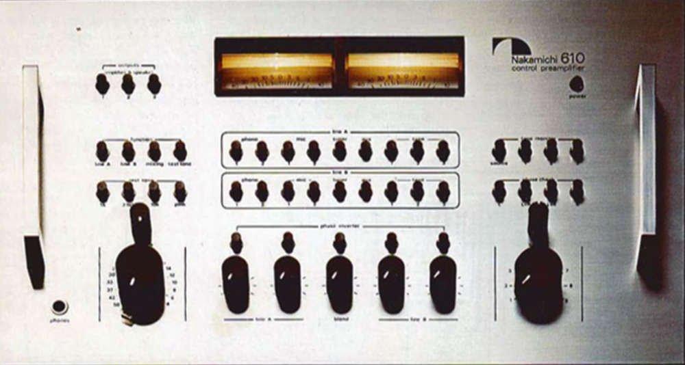 nakamichi コントロールアンプ 610 オリジナル布ダストカバー [プレゼントセット]   B00UPEJHXC