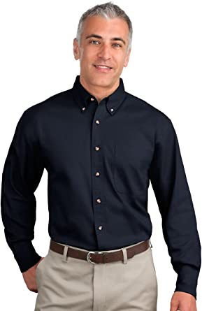 Port Authority Long Sleeve Denim Shirt