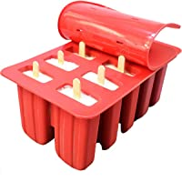 Silicone Ice Cream Mould Popsicle Mold Ice Tray Puck Popsicle Frozen Mold Shape DIY Ice Cream Tools