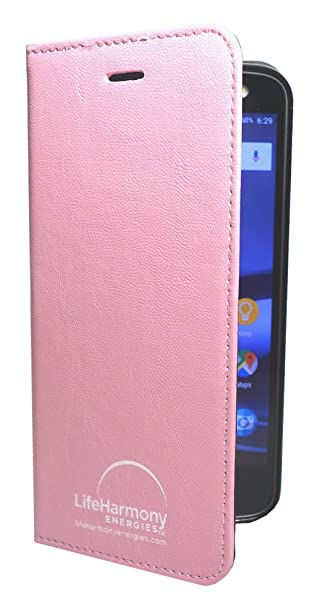 reputable site 81612 a0501 Anti-Radiation Cell Phone Case for iPhone 7/8 Plus EMF Blocker Patented 3  Layer Protection Lab Tested 99% Radiation Blocking (Pink)