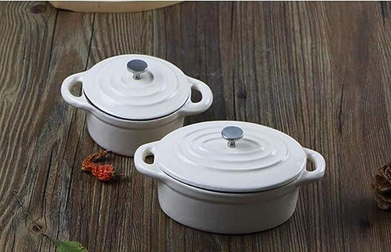 Amazon.com: Huaishu - Maceta de leche de hierro fundido ...