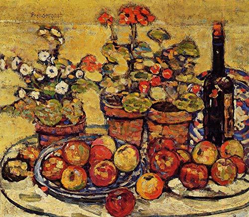 Maurice Prendergast Still Life - Fruit and Flowers 1913 Montclair Art Museum - Montclair, NJ 30