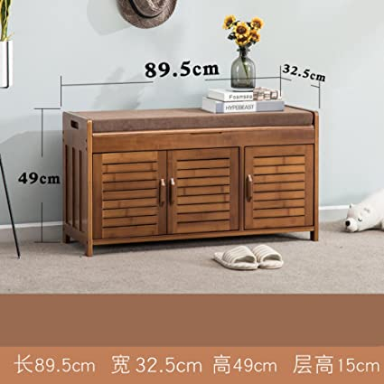 Beau Shoe Bench Nnewvante Free StAnding Organizing Rack False Leather Shoe  Storage Racks Seat For Closet Bedroom