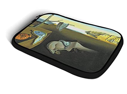 Relojes derretidos Dalí Arte iPad de neopreno para iPad awenta, Mini 1 y 2,