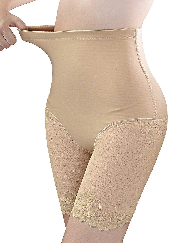 Ceestyle Faja Reductora Braguita Moldeadora Encaje Adelgazante Faja Pantal/ón Cintura Alta Body Moldeador Abdomen Shapewear Lenceria Mujer