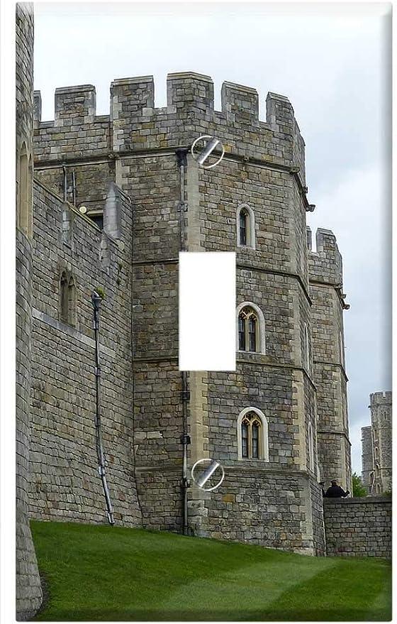 Switch Plate Single Toggle Windsor Castle Windsor Castle Architecture Fortress 1 Amazon Com