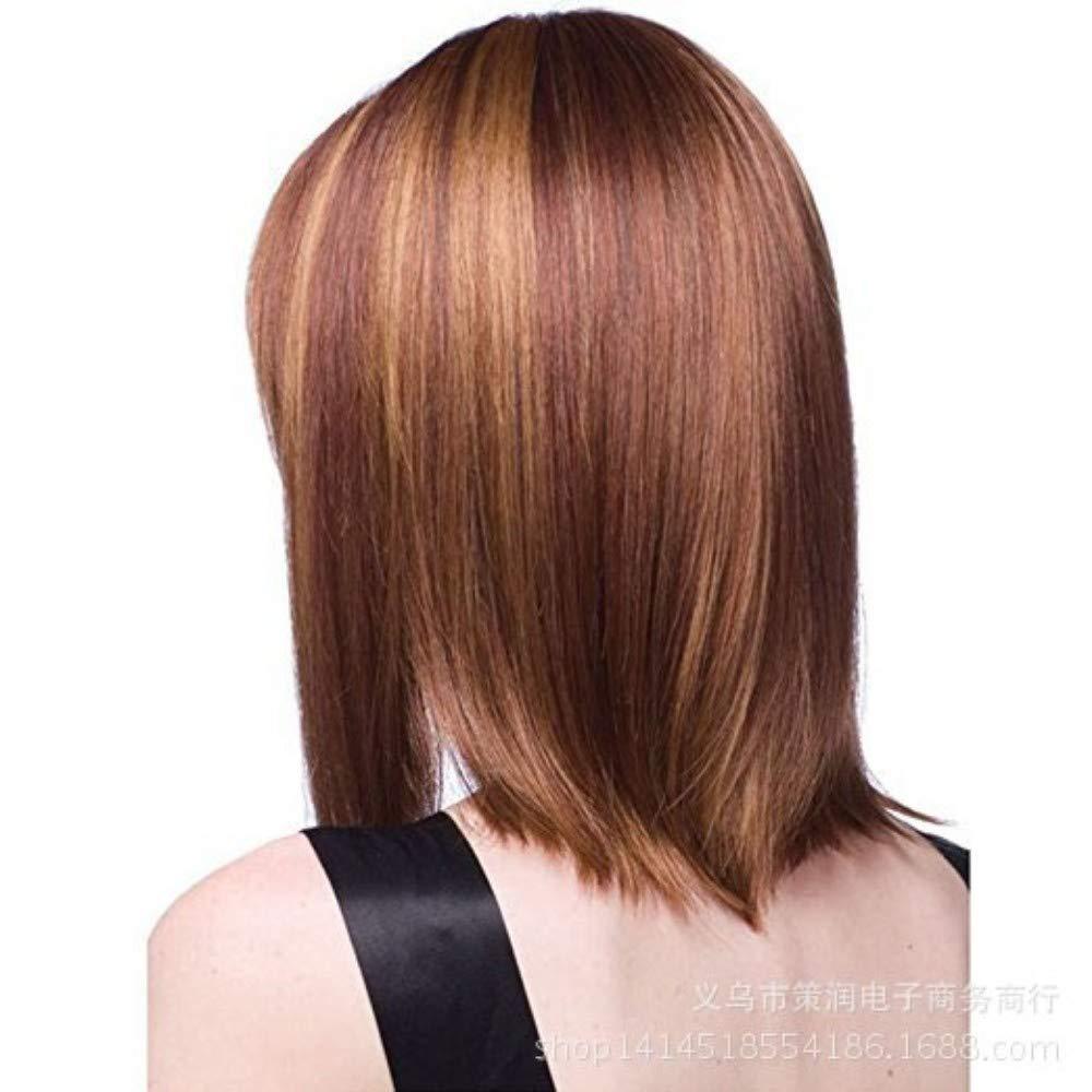 Perruque nette de cheveux longs bouclés, Rose, Fashion Cospaly ...