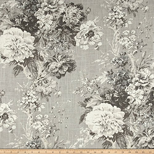 WAVERLY Ballad Bouquet Blend Linen Fabric, - Waverly Bouquet Ballad