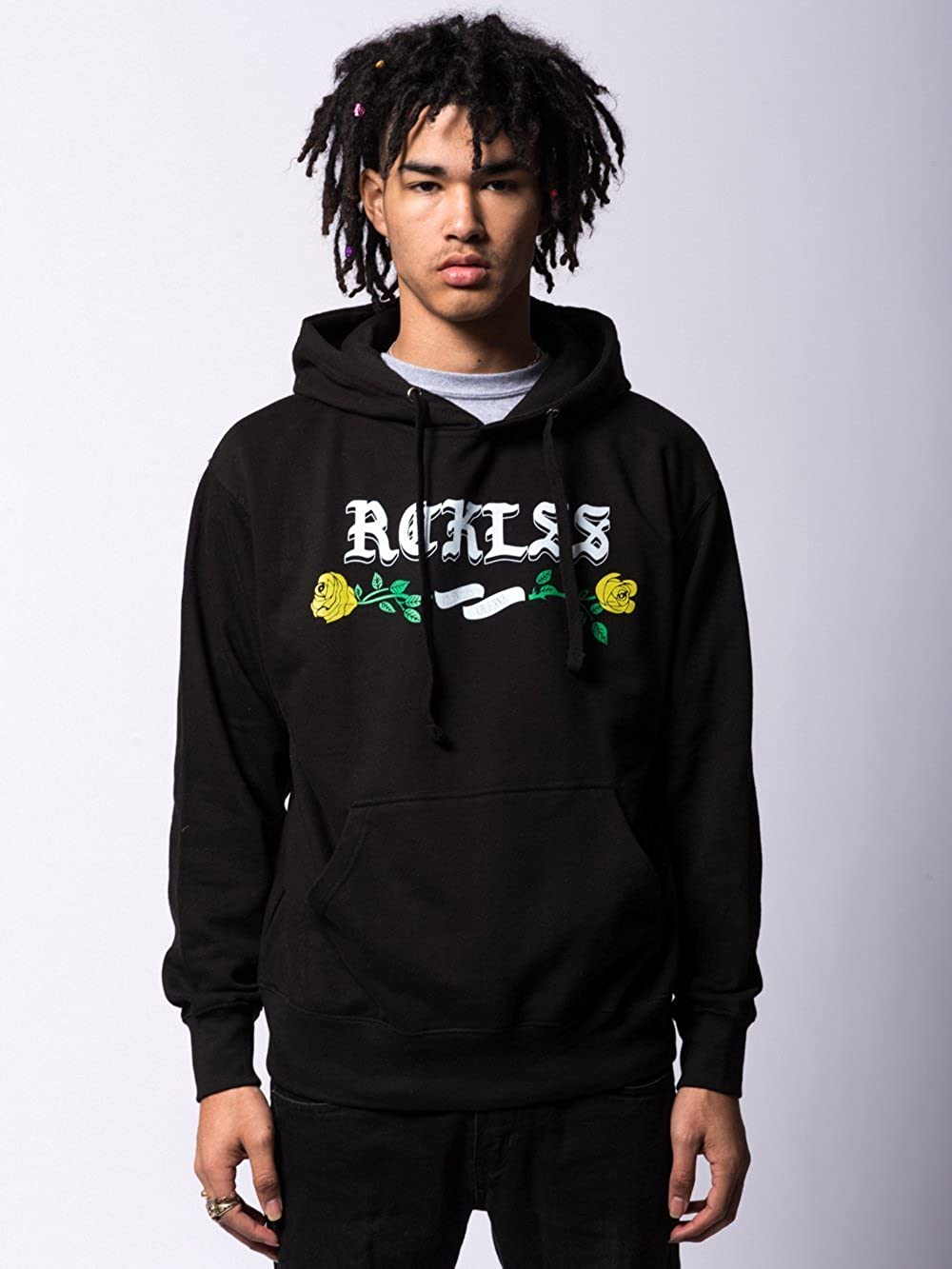 Fleece - Mens Hoodies Young and Reckless Black Entwined Hoodie