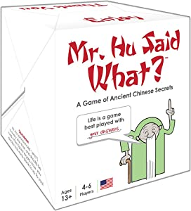 Mr. Hu Said What? - A Family/Party Game of Ancient Chinese Secrets
