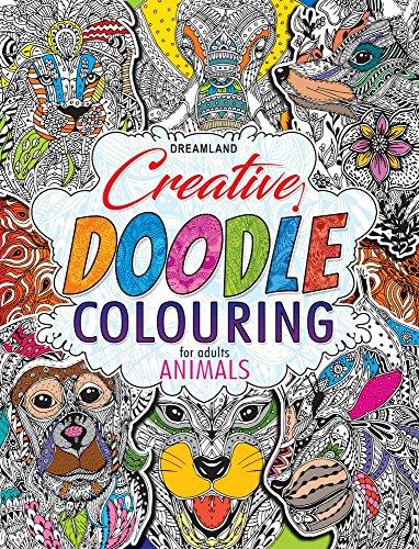 Creative Doodle Colouring – Animals & Birds