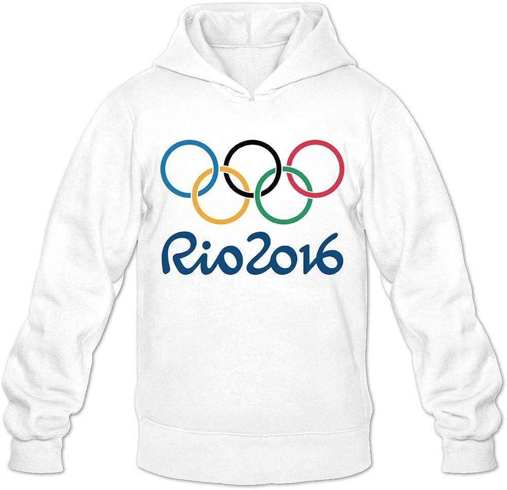 Men's 2016 Brazil Rio Olympic Games Hoodies White