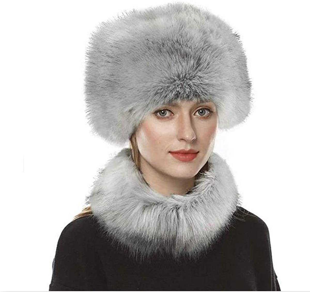 Faux Fur Winter Headband Ear Warmer One Size