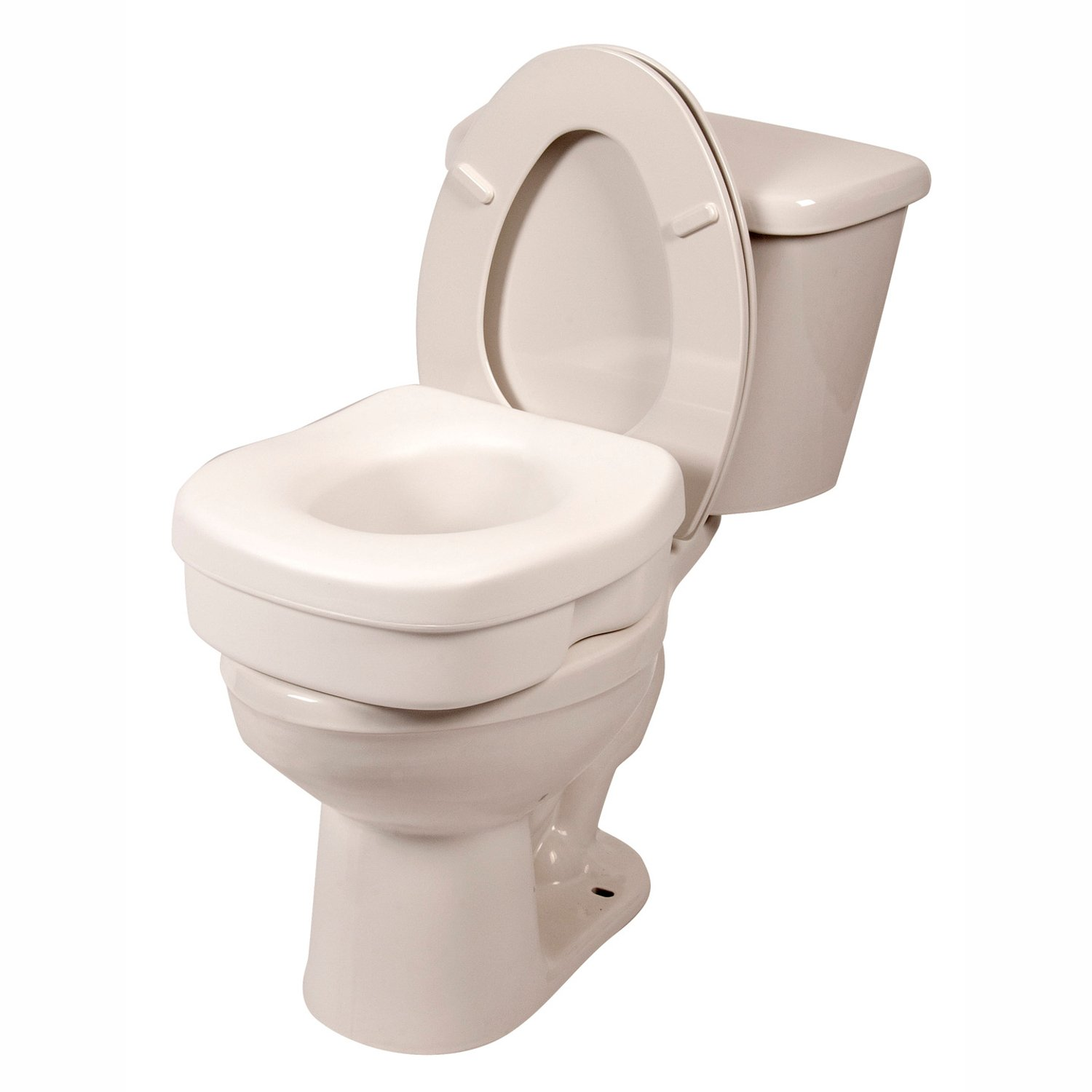 Amazon.com: PCP Raised Toilet Seat, 5-Inch Elevated Height Over ...