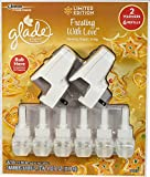 Glade Plugins Scented Oil Limited Edition Frosting With Love 2 Warmers 6 Refills