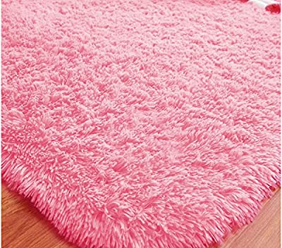"YING LAN Cozy Home Living Room Square Floor Mat Cover Carpet Area Rug Pad 31.5""*47"""