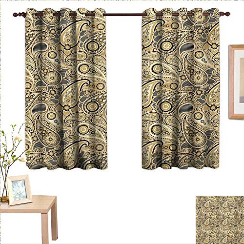 Conditioner Asian Pear - Earth Tones Customized Curtains Iranian Pattern Traditional Asian Paisley Welsh Pears 55