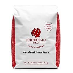 Coffee Bean Direct Decaf Dark Costa Rican