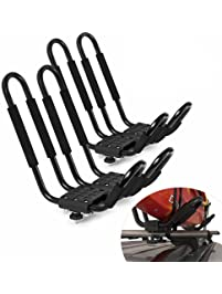 Kayak Amp Canoe Car Racks Amazon Com