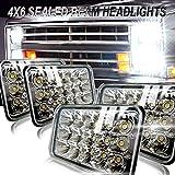 4x6 LED Headlights Rectangule Dot Sealed Beam 4x6 Inch CREE LED Headlight Bulb