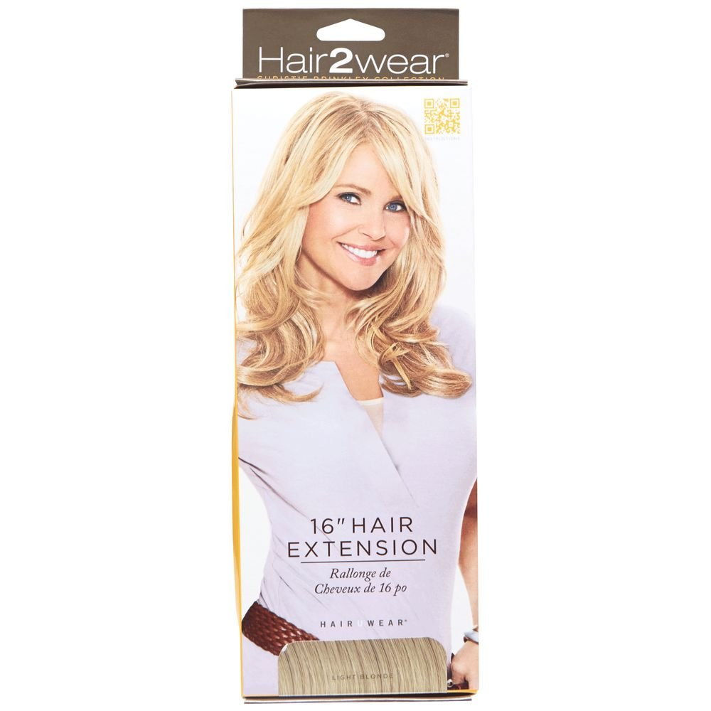 Amazon 16 Clip On Hair Extensions Color Ht1416t Dark Blonde