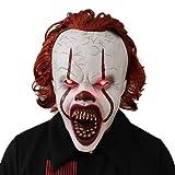Bulex LED Light Creepy Scary Clown Mask Halloween