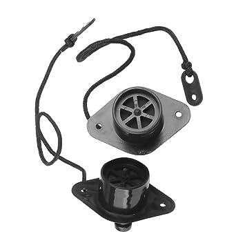 Amazon Com 2x Black Marine Pvc Scupper Drain Valve Cap Replacement